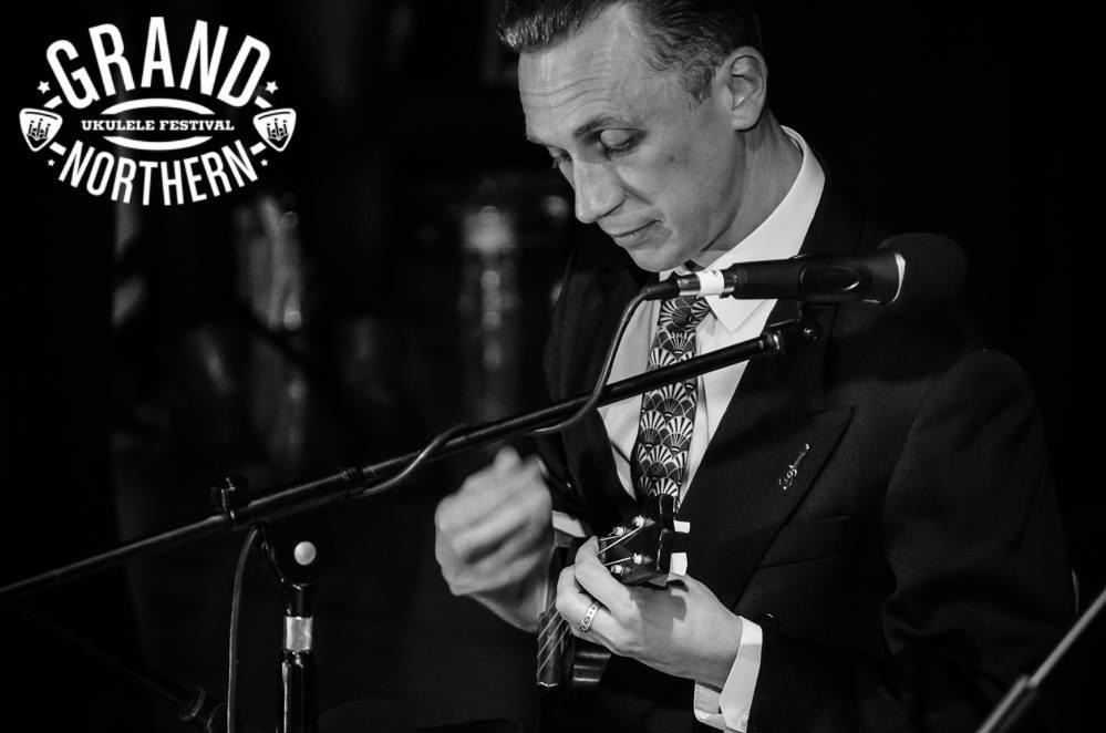 Ukulele Uff på en av Englands många ukulelefestivaler